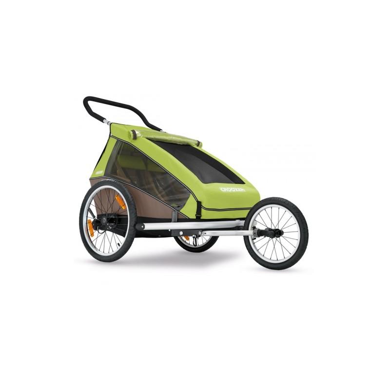 Croozer Kid for 2 grün Modell 2017