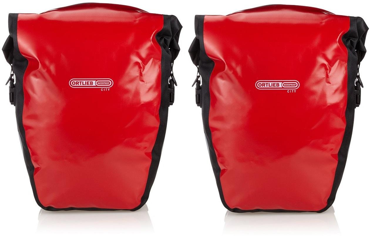 Ortlieb Back Roller City Doppeltasche rotschwarz