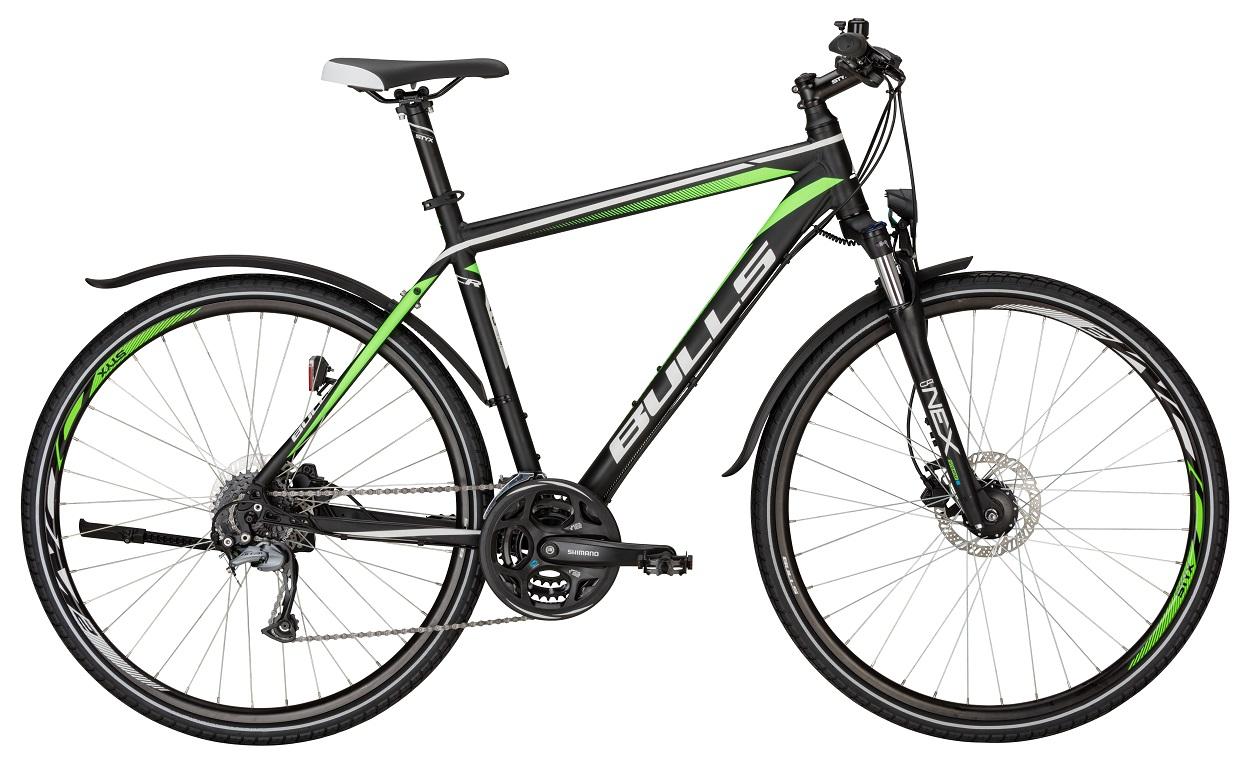 Bulls Cross Bike Street Herren schwarz-grün 201...