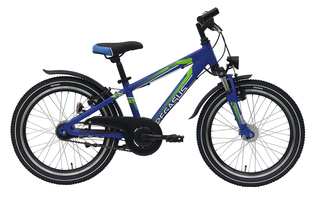 Pegasus Avanti-Sport Dirt 24 7-Gang Jungen blau...