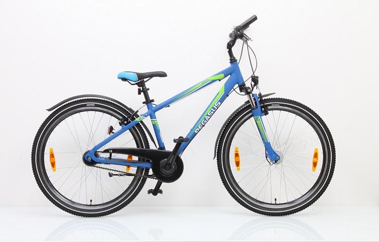 Pegasus Avanti-Sport Dirt 26 7-Gang Jungen blau...