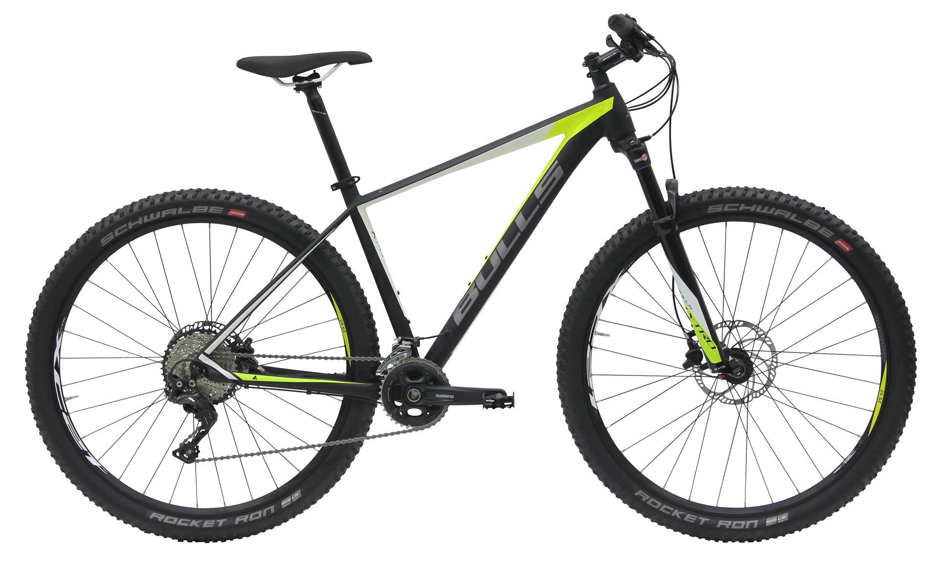 Bulls Copperhead 3 LT 29 schwarz-grün 2018 56cm