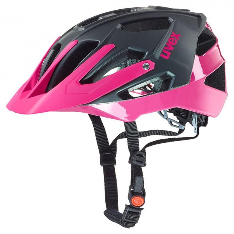 Uvex quatro black mat pink