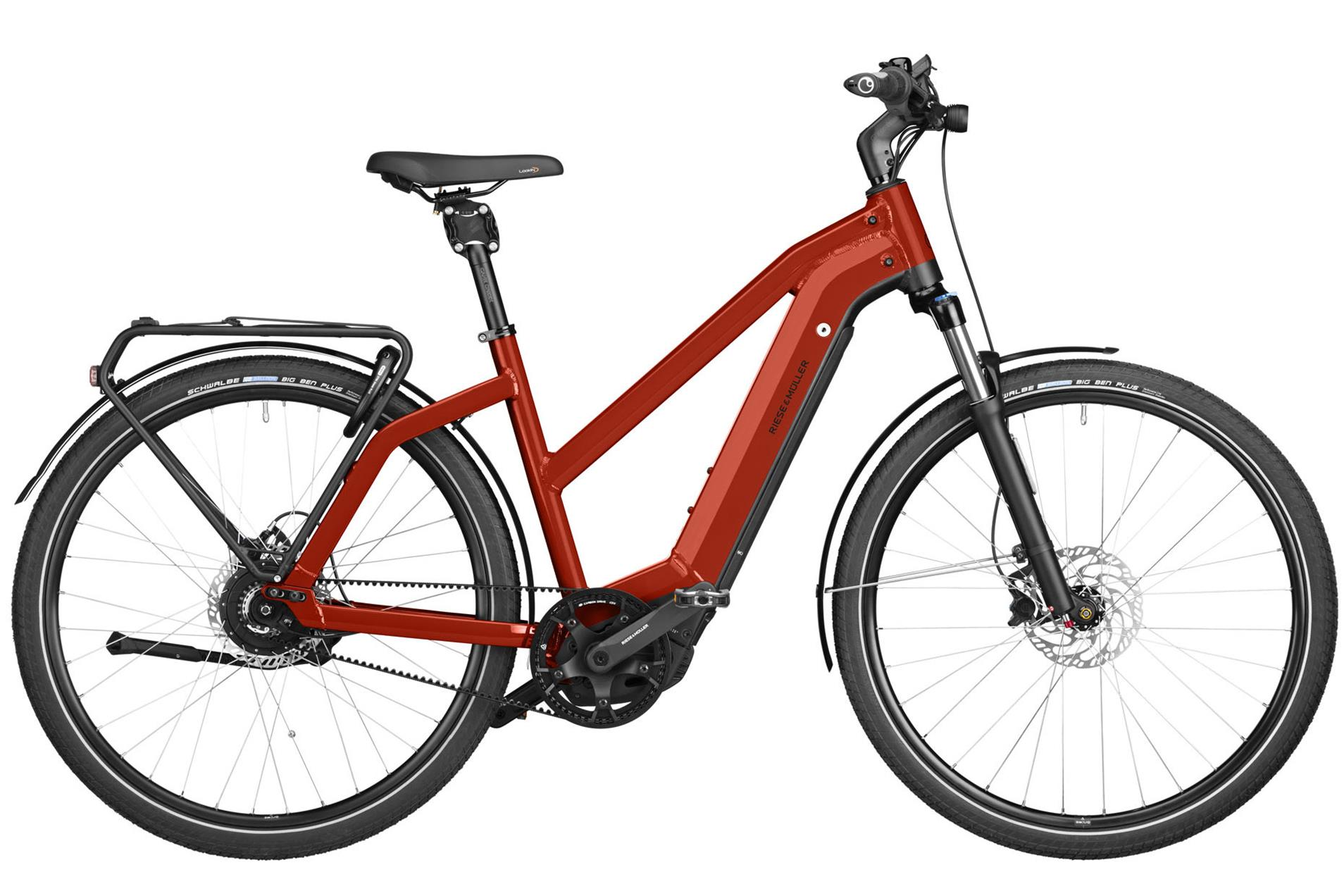 Riese & Müller Charger3 vario 500 Wh Damen Mixte rot 2020 46cm