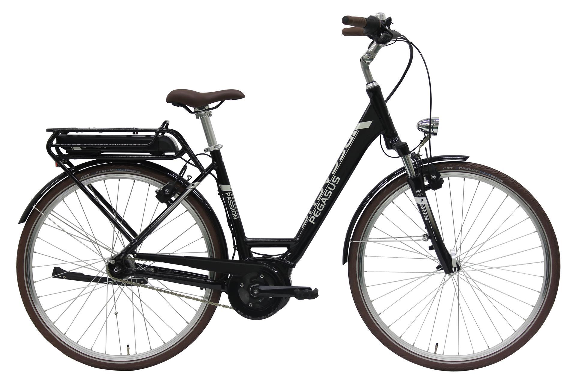 pegasus passion e7r 14 ah damen schwarz 2018 e bikes. Black Bedroom Furniture Sets. Home Design Ideas